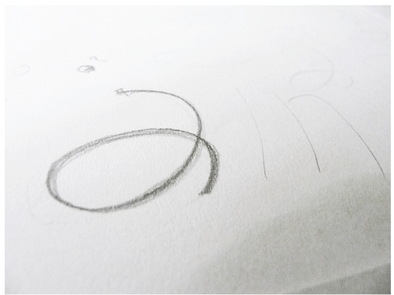 Logotype study for I am Fit, Pilates and Yoga (3)
