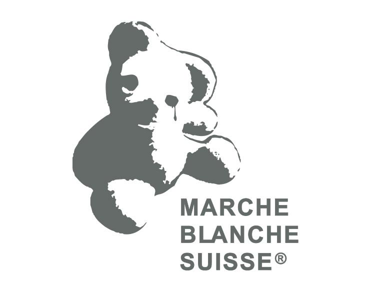 Logotype for La Marche Blanche Suisse - Colour
