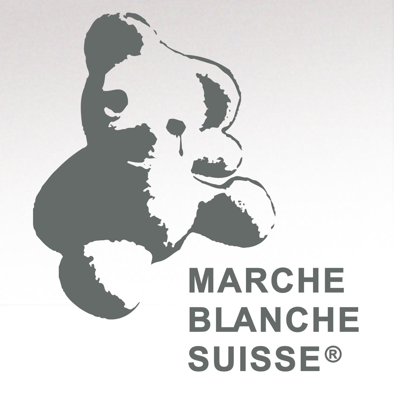Logotype for the Swiss association la Marche Blanche Suisse