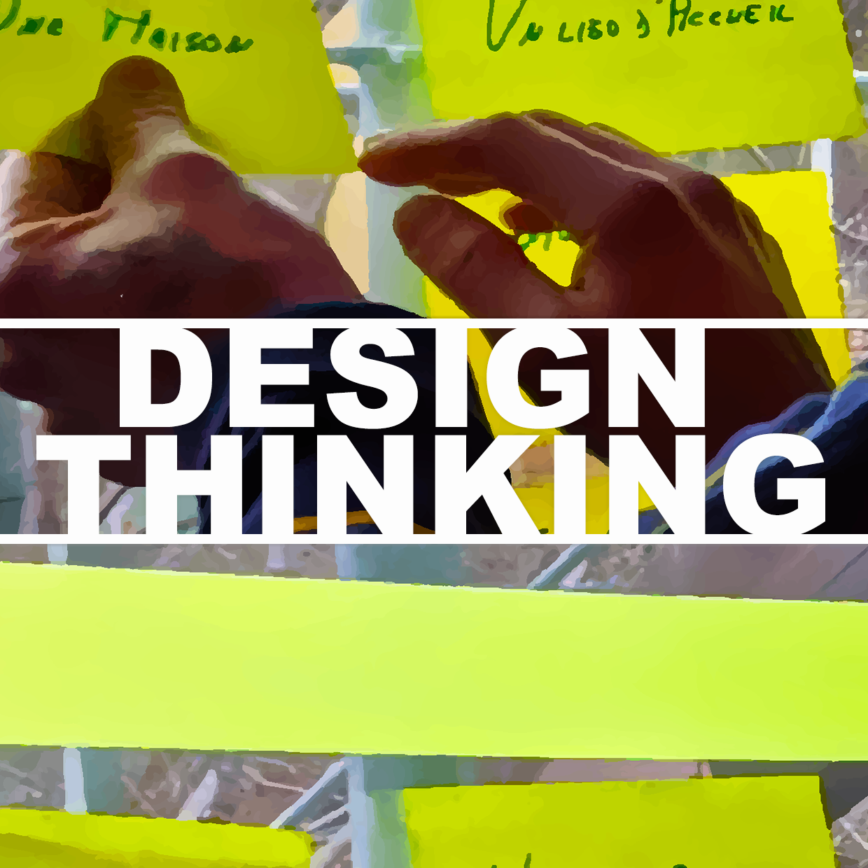 During our design thinking workshops, we assist teams to find THE solution of their problem